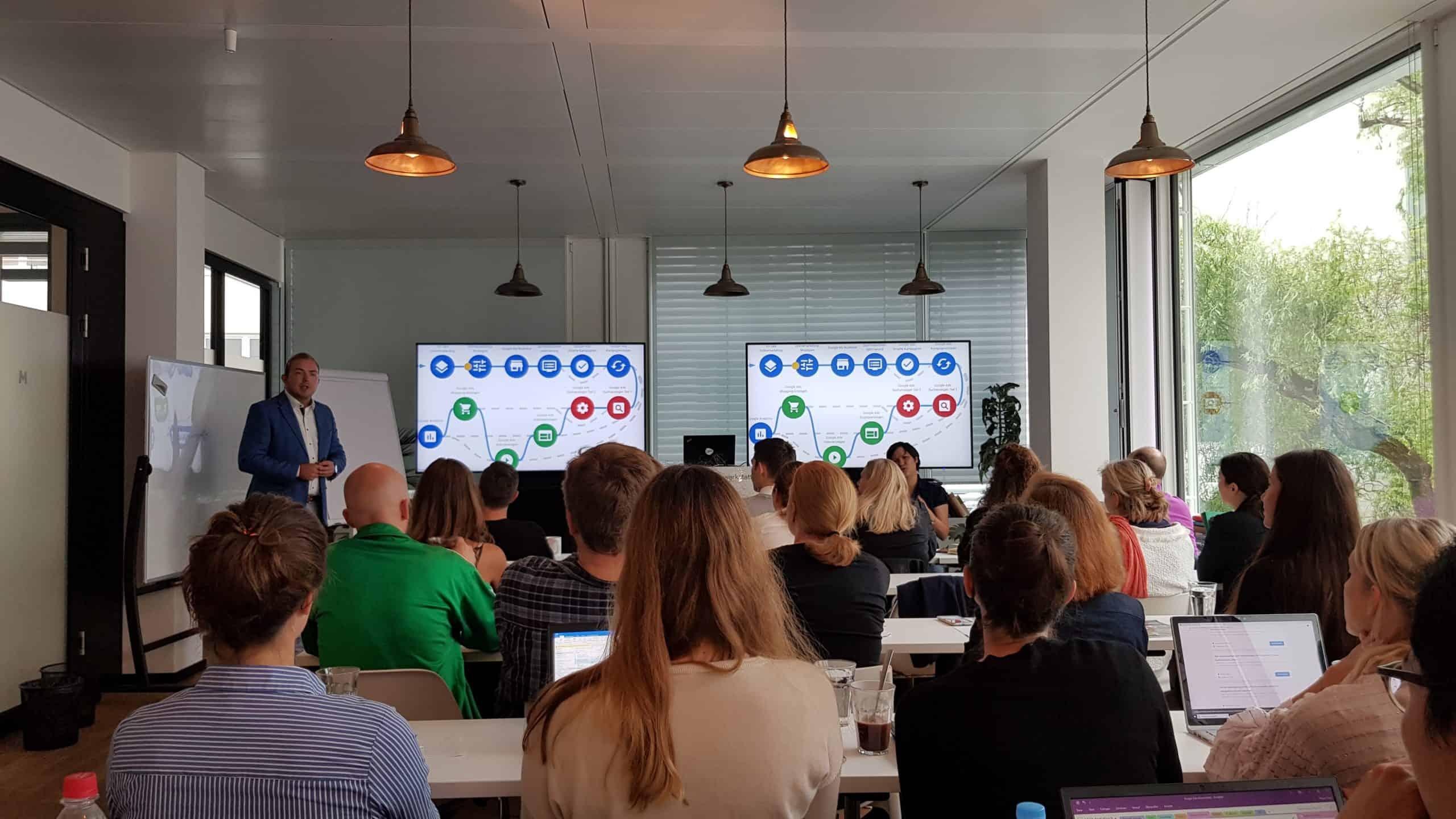 Vortrag Google Zukunftswerkstatt München