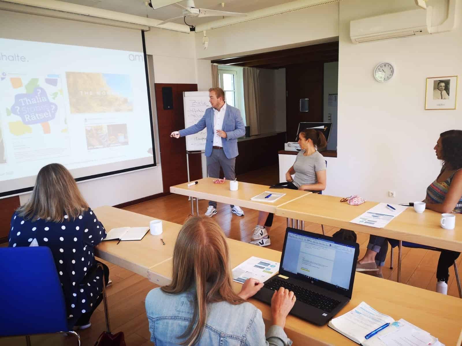 Benjamin Desche SEO und Social Media Coaching auf Schloss Aspenstein