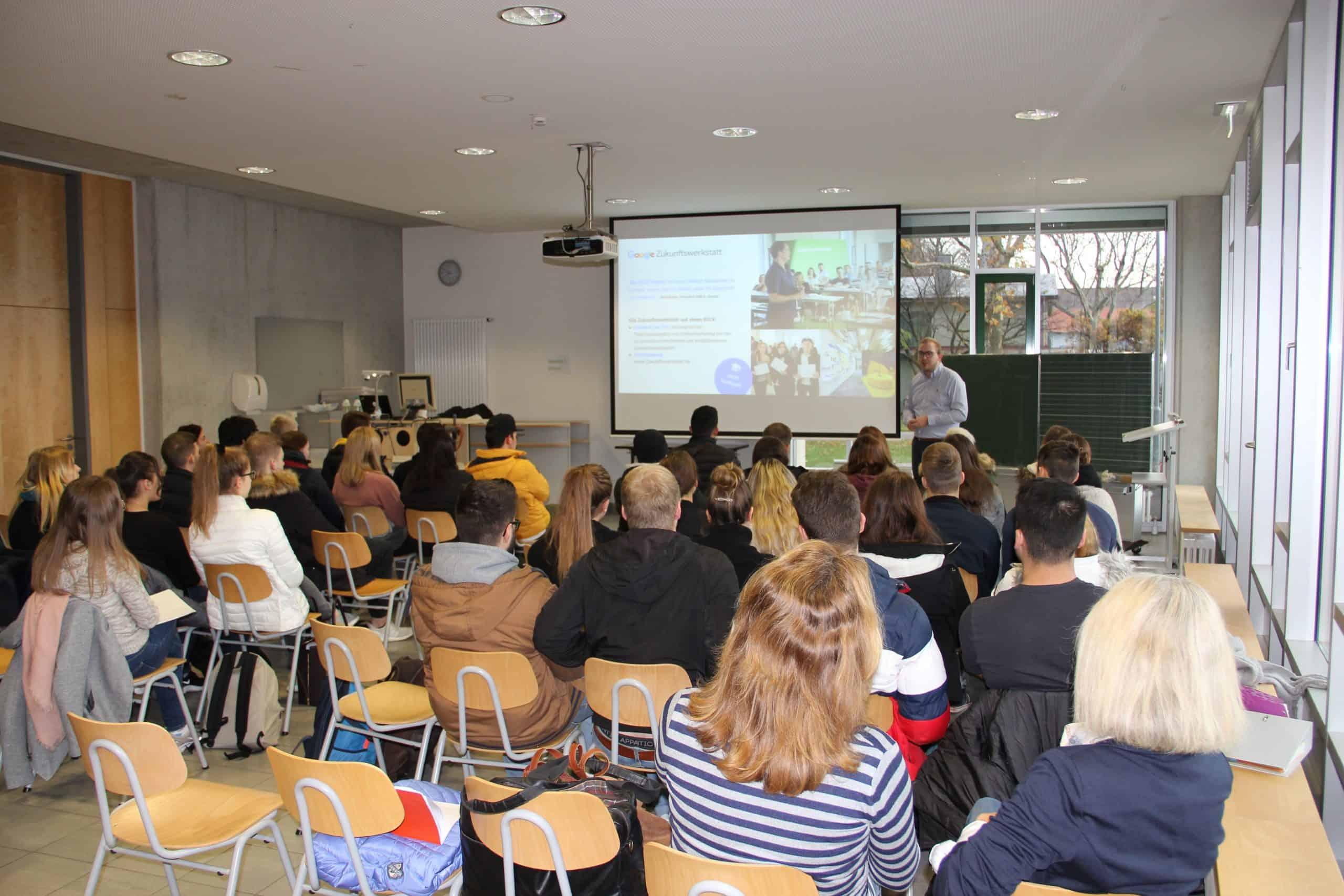 Vortrag Benjamin Desche Google Zukunftswerkstatt Berufsschule