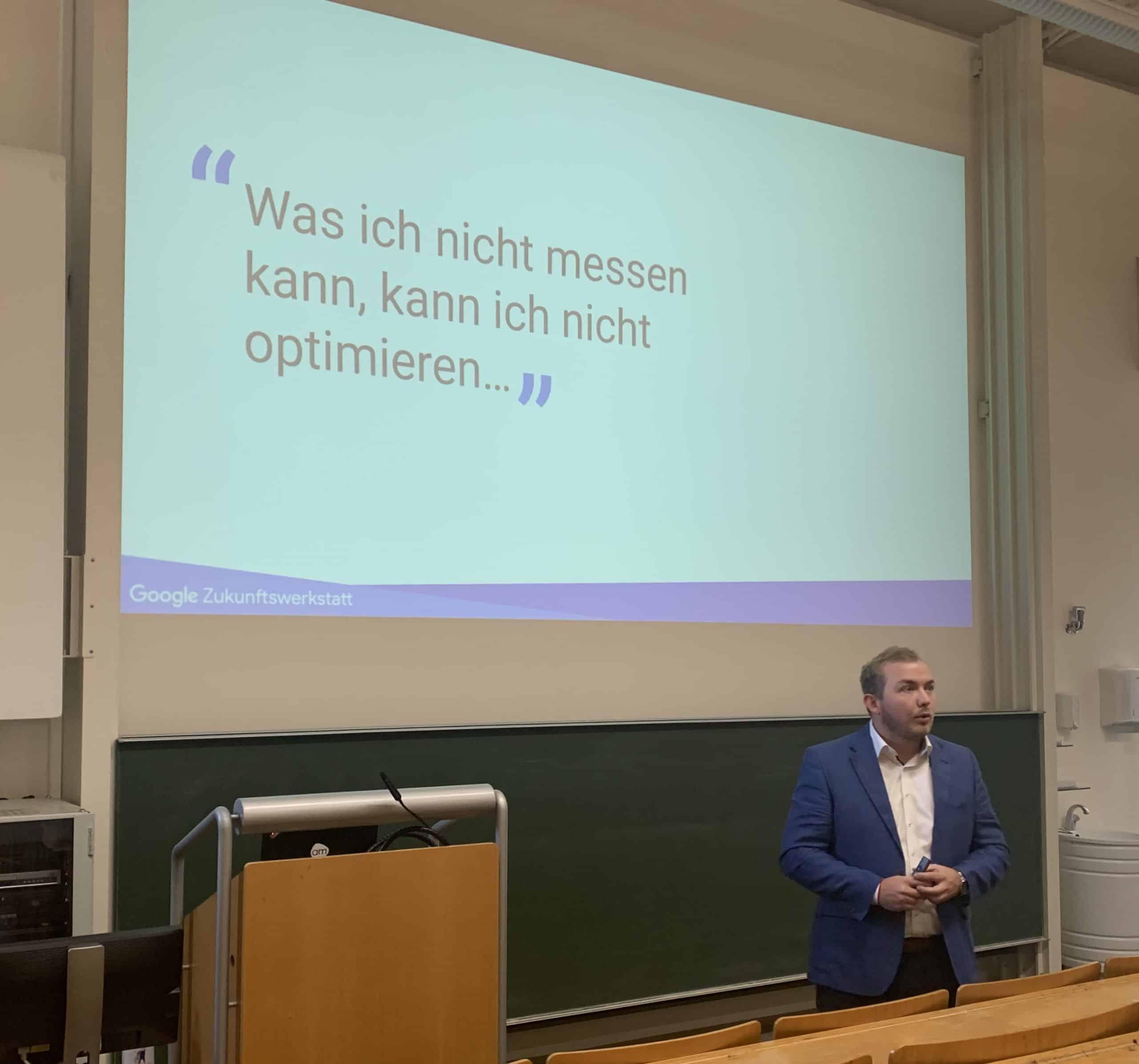 Vortrag Web Analytics Universität Passau